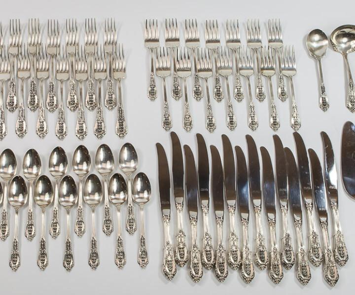 Vender cubertería de plata